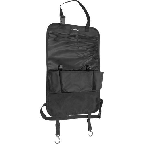 Macally Car Backseat Organizer & iPad/Tablet Holder