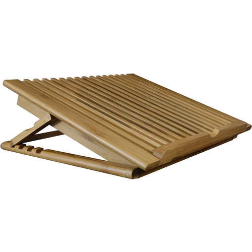 Macally Bamboo Cooling Stand