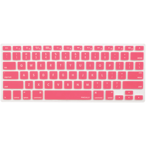 Macally Protective Cover for Select Apple Keyboards (Pink)
