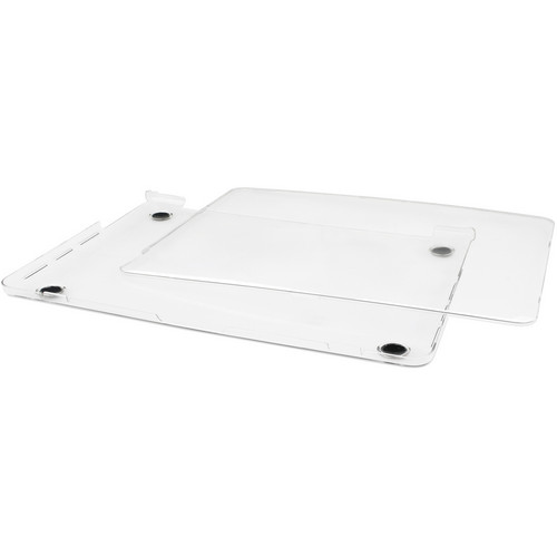 """Macally Clear Protective Case for 15"""" Macbook Pro with Retina Display"""