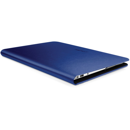 "Macally Slim Folio Case for 13"" Macbook Air (Navy Blue)"