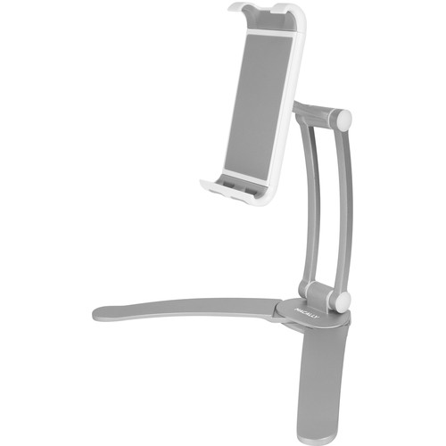 Macally 2-in-1 Wall Mount and Countertop Stand for Tablet or Smartphone