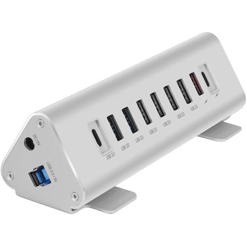 Macally 9 Ports Hub/Charger USB-C Computer