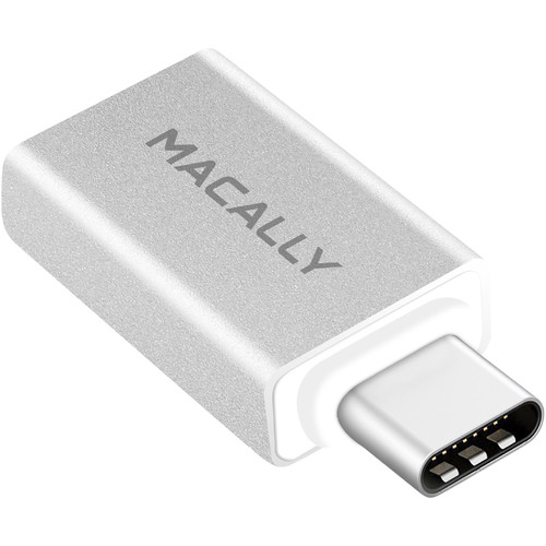 Macally USB-C to USB-A (Female) Adapter for USB-A Connector/for Macbook or Macbook Pro With USB-C Port