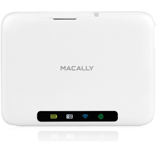 Macally Wi-Fi SD Card & USB Storage Hub