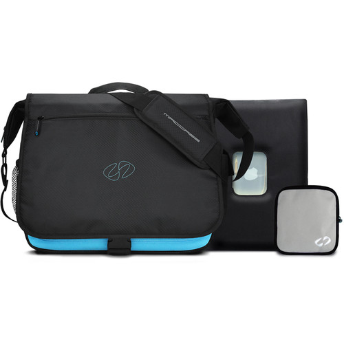 """MacCase MBPM-15 MacBook Pro Messenger Bag with 15"""" Sleeve"""