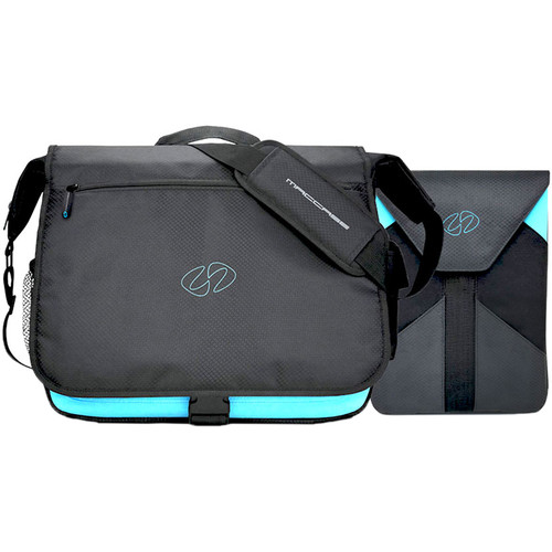 """MacCase Messenger Bag with Sleeve and Accessory Pouch for iPad Pro 12.9"""""""