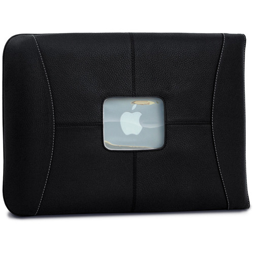 "MacCase Premium Leather Sleeve for MacBook 12"" (Black)"