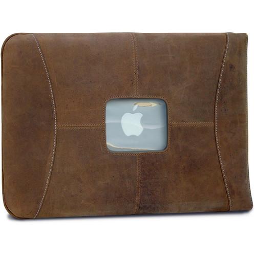 "MacCase Premium Leather Sleeve for MacBook 12"" (Vintage)"