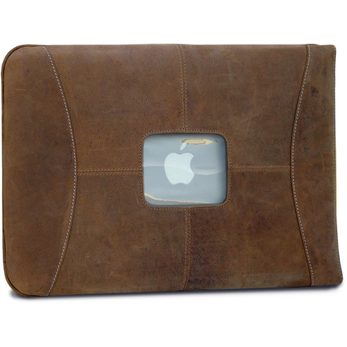 "MacCase Premium Leather Sleeve for MacBook 12"" (Vintage)"