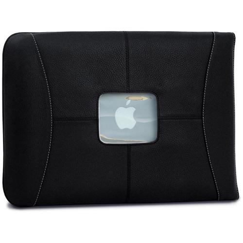 "MacCase Premium Leather MacBook Air & Pro Sleeve (13"", Black)"