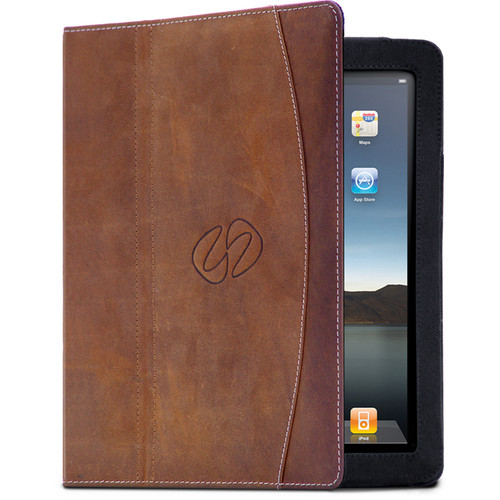 MacCase Premium Leather Case for iPad Air 2 (Vintage Brown)