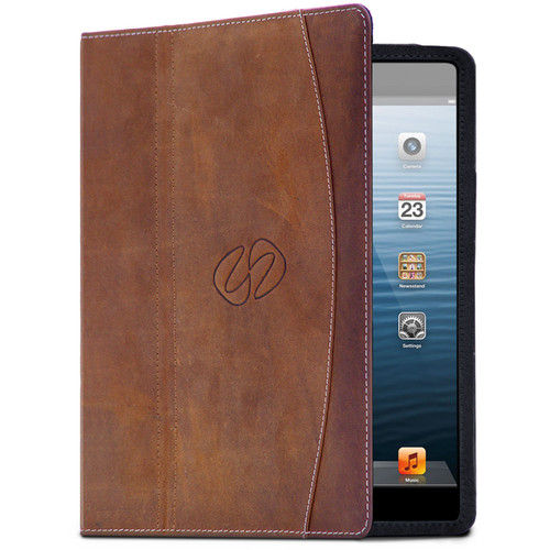 MacCase Premium Leather Case for iPad mini 1, 2, and 3 (Vintage Brown)