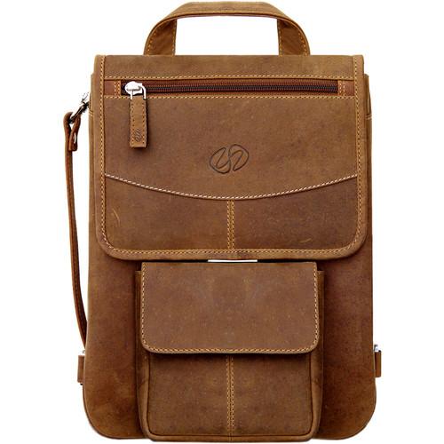 MacCase Premium Leather iPad Flight Jacket with Backpack Option (Vintage)