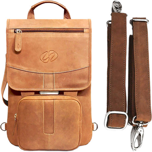MacCase Premium Leather Flight Jacket with Backpack Straps for iPad Pro (Vintage)