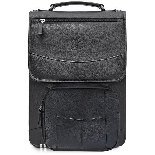 MacCase Premium Leather Briefcase (Black)