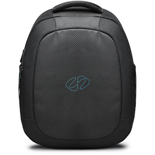 "MacCase Universal Backpack for Laptops & Tablets up to 15.4"" (Black/Cyan)"
