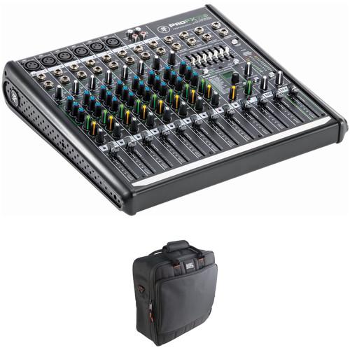 mackie profx12v2 12 channel mixer carry bag kit b h photo. Black Bedroom Furniture Sets. Home Design Ideas