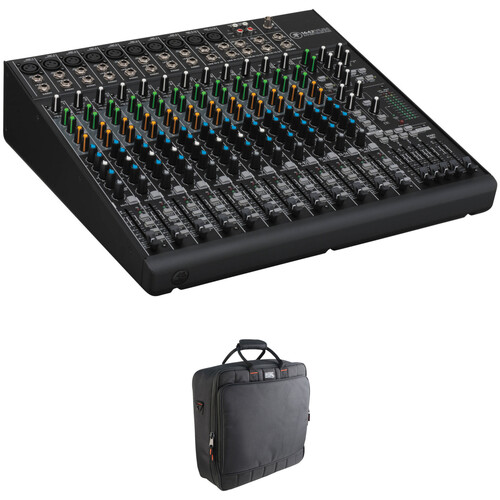 Mackie 1642VLZ4 16-Channel Mixer and Mixer Bag Kit