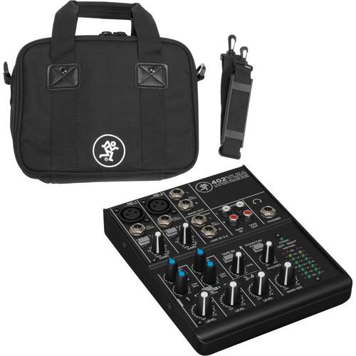Mackie 402VLZ4 Mixer Kit with Bag