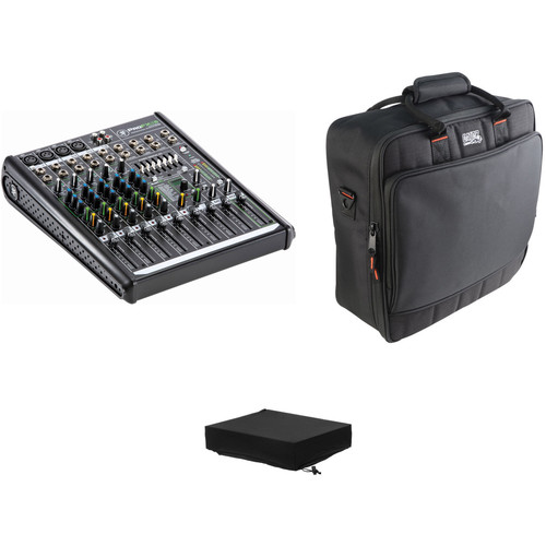 Mackie ProFX8v2 - 8-Channel Live Sound Mixer with Carrying Bag and Dust Cover Kit