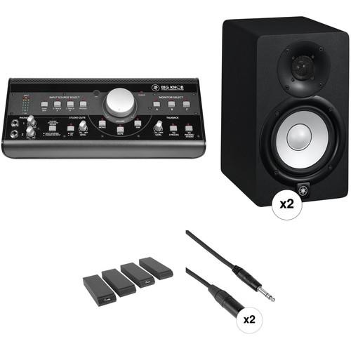 Mackie Big Knob and Yamaha HS5 Speaker Kit