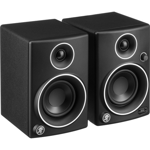 """Mackie CR3 LTD 3"""" Woofer Creative Reference Multimedia Monitors (Pair, Limited-Edition Silver Trim)"""
