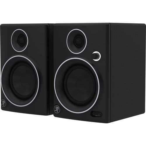 """Mackie CR4 LTD 4"""" Woofer Creative Reference Multimedia Monitors (Pair, Limited-Edition Silver Trim)"""