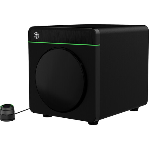 """Mackie CR8S-XBT Creative Reference Series 8"""" Multimedia Subwoofer with Bluetooth and Volume Controller"""