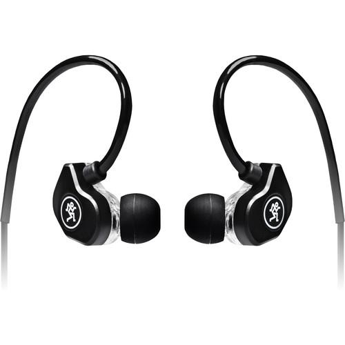 Mackie CR-Buds+ In-Ear Headphones with In-Line Microphone & Remote (Black)