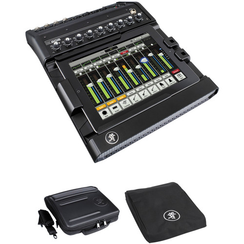 Mackie DL806 8-Channel Digital iPad Control Mixer with Mixer Bag and Mixer Cover