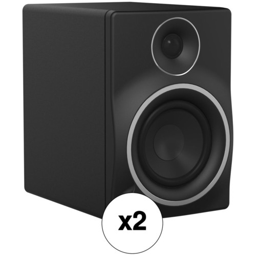 "Mackie Pair of MR5mk3 - 5.25"" 2-Way Powered Studio Monitors Kit"