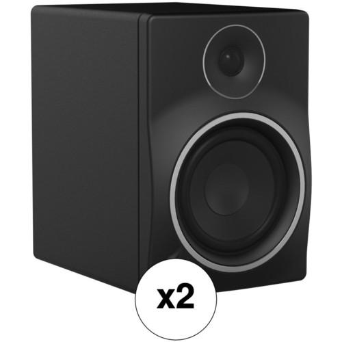 "Mackie Pair of MR6mk3 - 6.5"" 2-Way Powered Studio Monitors Kit"