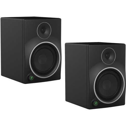 "Mackie Pair of MR8mk3 - 8"" 2-Way Powered Studio Monitors Kit"