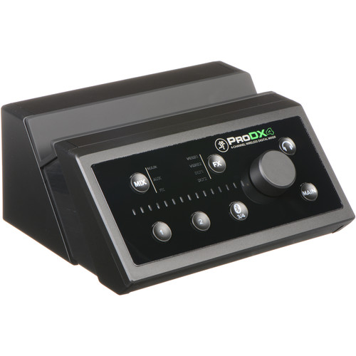 mackie pro dx4 4 channel wireless digital mixer b h photo. Black Bedroom Furniture Sets. Home Design Ideas