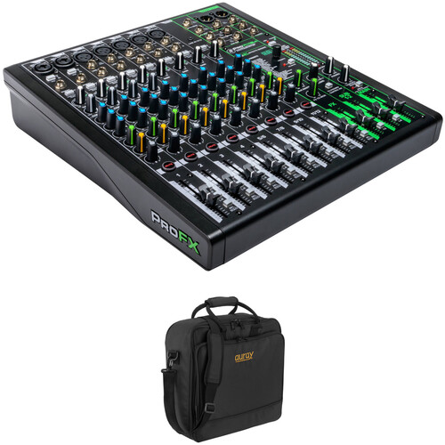 Mackie ProFX12v3 12-Channel Mixer Kit with Bag