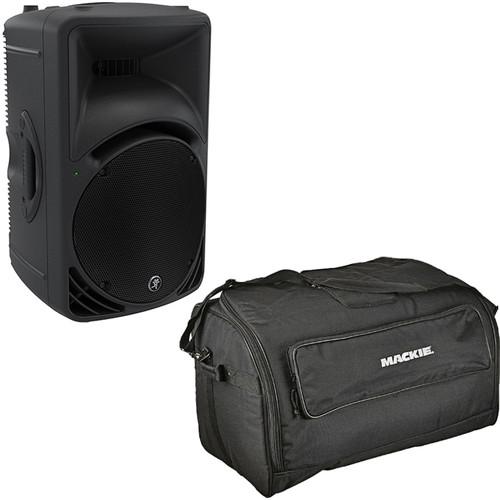 Mackie SRM450 1000W Powered Loudspeaker Kit with Speaker Bag