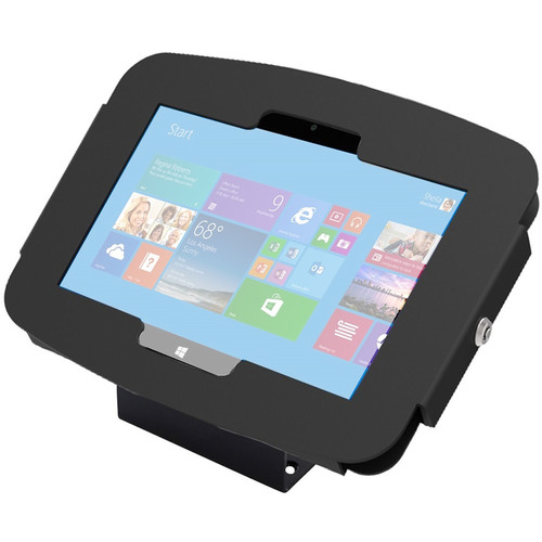 Maclocks Space Surface Tablet Enclosure Kiosk for Surface 3 (Black)