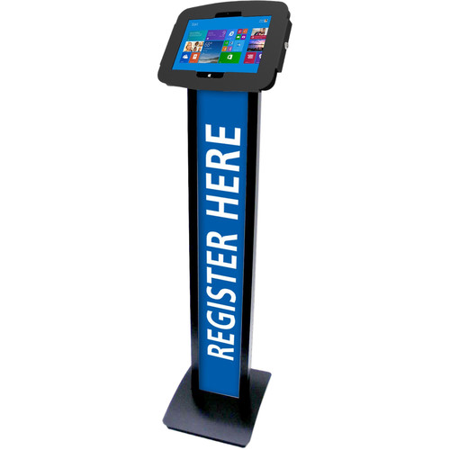 Maclocks Space Surface Adjustable Floor Stand Kiosk for Surface 3 with Security Lock