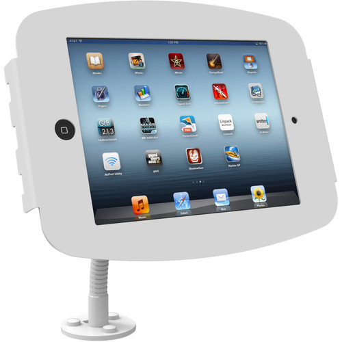 Maclocks Space iPad Flex Arm Mount Stand for iPad/iPad Pro 9.7 (White)