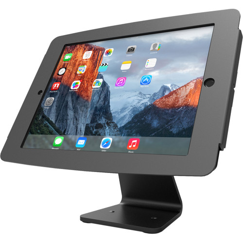 Maclocks Space iPad 360 Rotating and Tilting Enclosure Kiosk for iPad Pro 360 (Black)