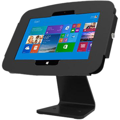 Maclocks Space Surface Tablet Enclosure 360 Kiosk for Surface 3 (Black)