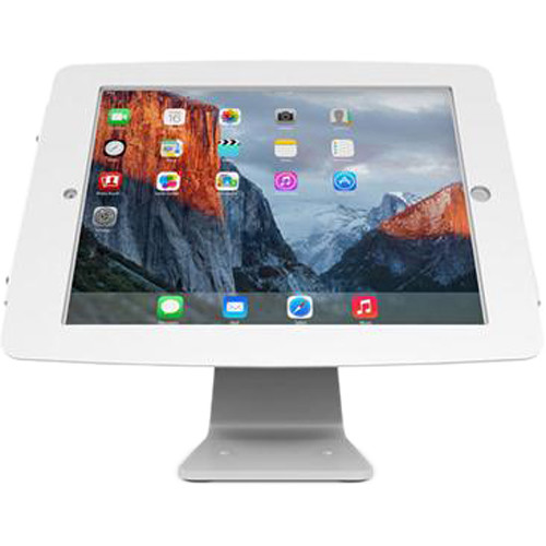 Maclocks Space iPad 360 Rotating and Tilting Enclosure Kiosk for iPad Pro 360 (White)