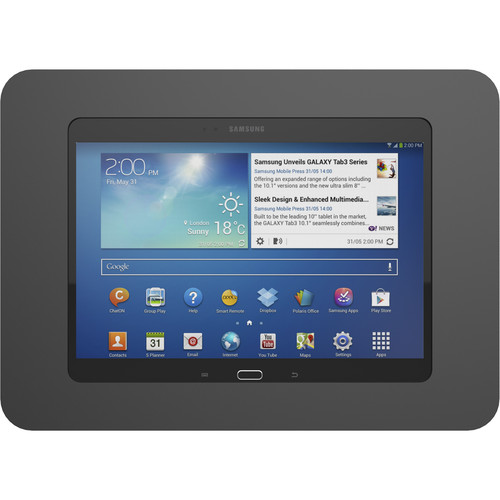 Maclocks Rokku Premium Enclosure Wall Mount for Galaxy Tab A 10.1 (Black)