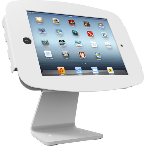 "Maclocks Executive 360 All-in-One Enclosure Kiosk for 9.7"" iPad / iPad Pro (White)"