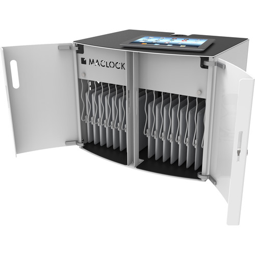 Maclocks CartiPad Solo 16 Tablet Charging Cabinet (White)