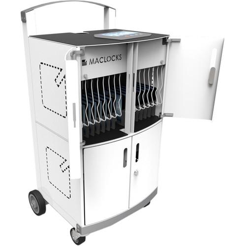 Maclocks CartiPad Duo 32-Unit Charging Cart