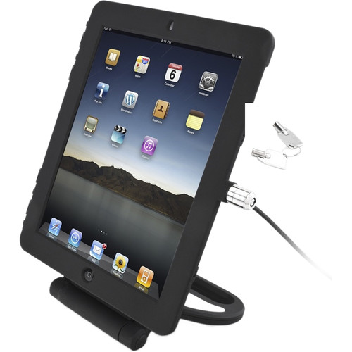 Maclocks T-Bar Cable Lock and Security Case for iPad Air/Air 2 (Black)