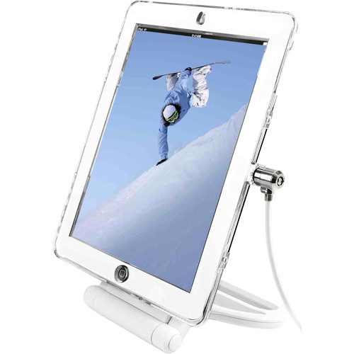 Maclocks T-Bar Cable Lock and Security Case for iPad Air/Air 2 (Clear)