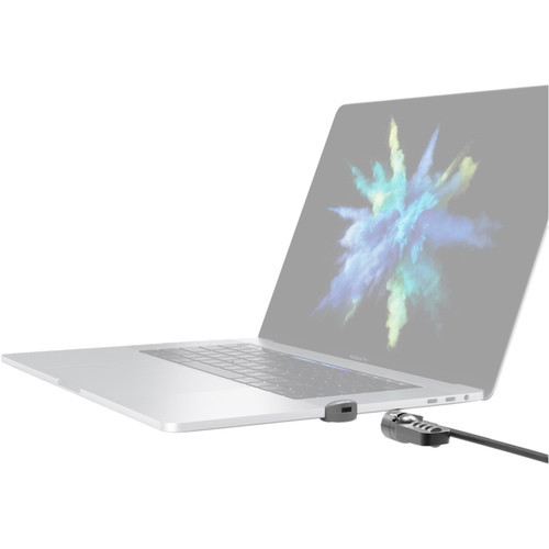 """Maclocks Ledge Lock Slot Adapter with Combination Cable Lock for 13 and 15"""" MacBook Pro Models with Touch Bar"""